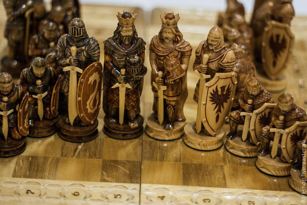 Шахматы своими руками из полимерной глины