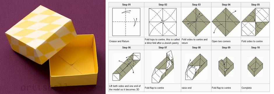 Как сделать подарки оригами для нового года