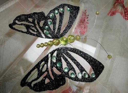 Бабочки для штор своими руками фото