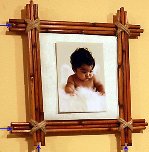 Как сделать своими руками фото рамку из картона